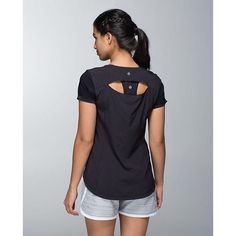 Lululemon Lightened Up Short Sleeve Lululemon Lightened Up SS in excellent condition. Swift Ultra Light fabric is sweat-wicking with four-way stretch. Knit sleeves for extra comfort and mobility. lululemon athletica Tops