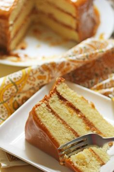 Caramel Cake | 19 Classic Soul Food Dishes Worth Passing On To Your Kids
