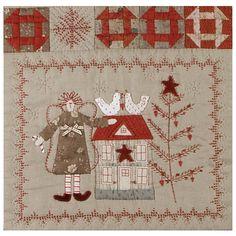 Shop | Category: Christmas | Product: Scandinavian Christmas - Block 3