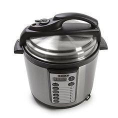 BELLA 6 Quart Pressure Cooker with 10 pre-set functions and Searing Technology, 1000 watt // http://cookersreview.us/product/bella-6-quart-pressure-cooker-with-10-pre-set-functions-and-searing-technology-1000-watt/  #cooker #pressure #electric