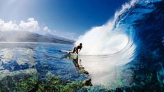 Surfing on glass