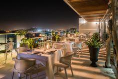 Terraza EFFE: Restaurante Erre de Ramón Freixa - Hotel Las Américas - Cartagena, Colombia