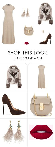 """""""Untitled #9210"""" by mie-miemie ❤ liked on Polyvore featuring Urbancode, Polo Ralph Lauren, Casadei, Chloé and Dolce&Gabbana"""