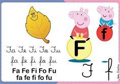 Família Silábica Peppa letra F
