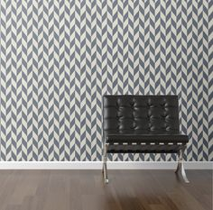 Sailor Chevron Removable Wallpaper wall decal