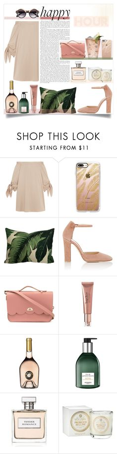"""Unbenannt #267"" by sophie-martina ❤ liked on Polyvore featuring TIBI, Casetify, Gianvito Rossi, The Cambridge Satchel Company, Margarita, Hermès, H&M, Ralph Lauren, Voluspa and happyhour"