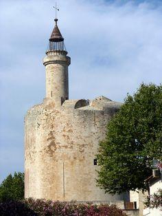 Chateau d'Aigues Mortes - France -  Tour de Constance