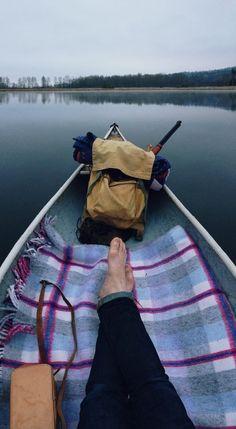 #canoe #relax #paddling #camping