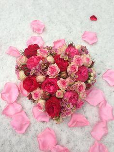 Hart bloemstuk van Menno Kroon