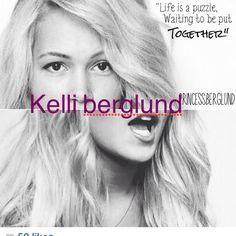 Hi  Kelli berglund ♥️xoxo