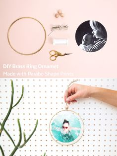 Check out this fun DIY using double-sided shape cards from @parabopress perfect for hanging anywhere!