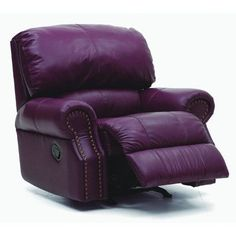 Palliser Furniture Charleston Rocker Recliner Type: Manual, Upholstery: All Leather Protected - Tulsa II Dark Brown