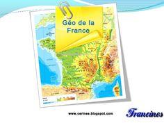 La France -  geographie by Deparateanu Ana-maria via slideshare
