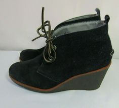 Fashion Platform Wedge Heels Shoes