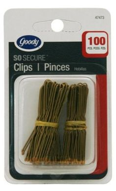Goody Brown Hair Pin - Goody Set Of Hair Pins In Brown * You can find out more details at the link of the image.