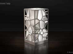 Voronoi Lamp By 3D Printed Fashion