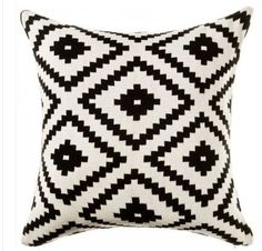 Nordic scandinavian Cushion Geometric pillows case decoration geometric throw pillows cushions black and white cushion