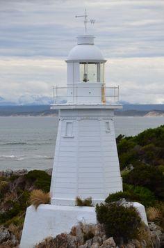 Entrance Islet Lighthouse, Strahan TAS