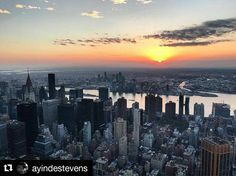 Photo by @ayindestevens: Good Morning from the top.