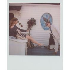 Band of Outsiders: polaroid campaigns ❤ liked on Polyvore featuring polaroids, fillers, backgrounds, photos and pictures