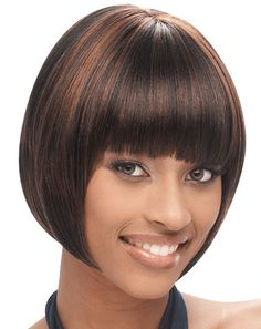 Synthetic hair wig erica by janet collection