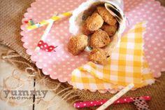 chicken nuggets {Σπιτικές κοτομπουκιές στο φούρνο } Baby Food Recipes, Teddy Bear, Breakfast, Chicken Nuggets, Babies, 12 Months, Recipes For Baby Food, Morning Coffee, Babys