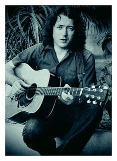 Rory Gallagher by Bluesoundz Radio, via Flickr - I find it hard to watch his later pics where he often seems to have lost the impish looks in his eyes. :(