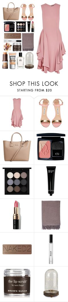 """5.154"" by katrina-yeow ❤ liked on Polyvore featuring Alexander McQueen, Manolo Blahnik, MANGO, Christian Dior, MAC Cosmetics, Bobbi Brown Cosmetics, Johnstons of Elgin, Urban Decay and Sara Happ"