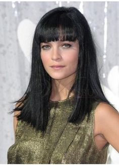 899 Best Long Shiny Black Hair With Bangs Images In 2019 Bang