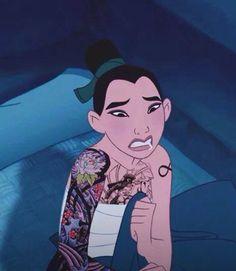 This is Mulan. She is please adopt. Emo Disney, Disney Punk Edits, Punk Disney Characters, Dark Disney, Next Disney Princess, Punk Princess, Disney And Dreamworks, Disney Pixar, Disney Adoption