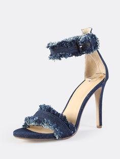 Denim, Heels, Fashion, Moda, Fashion Styles, High Heel, Fashion Illustrations, Fashion Models, Jeans