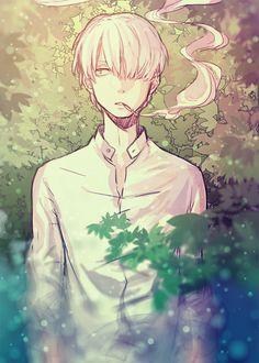 Mushishi by Yuki Urushibara. Es uno de los anime que realmente vale la pena ver!!!