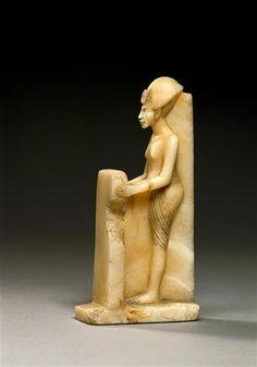 Statuette of Akhenaten. Allemagne, Berlin, Ägyptisches Museum und Papyrussammlung (SMPK)