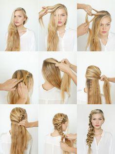 6 penteados com tranças para renovar o visual