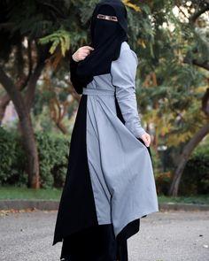 Hijab Mode, Hijab Niqab, Muslim Hijab, Hijab Chic, Anime Muslim, Niqab Fashion, Muslim Fashion, Fashion Muslimah, Hijabi Girl