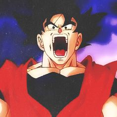Goku going Super Saiyan 2
