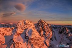 Incandescent Alps by SysaWorld Roberto Moiola on 500px