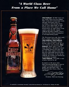 Oshkosh Beer.