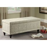 Found it at Wayfair - Afton Fabric Bedroom Storage Ottoman