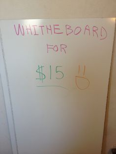 So I wanted a white board & HELL NO I wasn't going to pay more than $30 for it! so I decided to Make my own Ghetto White Board for Cheap! (costs less than $15!)...take a peek onto my Epic Adventure to a Shiny New Smooth & Sexy Whiteboard!