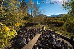J. La Plante Photo | Aspen Wedding Photography | Aspen Meadows Wedding | Bride and groom during ceremony