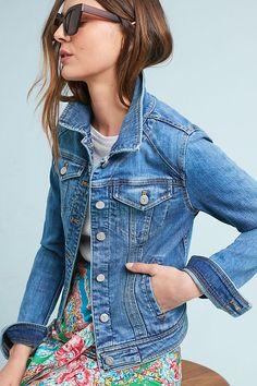 Slide View: 1: Pilcro Farrah Denim Jacket
