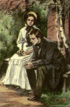 David Borovsky  Иллюстрации  И.Тургенев  Отцы и дети