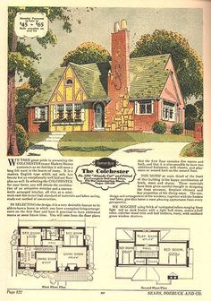 Sears Modern Home - The Colchester on Flickr. Available between 1929 and 1933. Antique Home