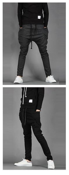 Casual wear men sweatpants for work out or daily wear.Find them in black/ deep grey colors at €11.46