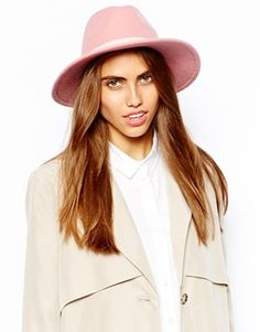 Enlarge River Island Felt Fedora Hat Clothes For Sale b362621d21be