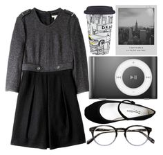 """""""New York Inspired"""" by ginga-ninja ❤ liked on Polyvore featuring Burberry, Meggie, Lenox and Repetto"""