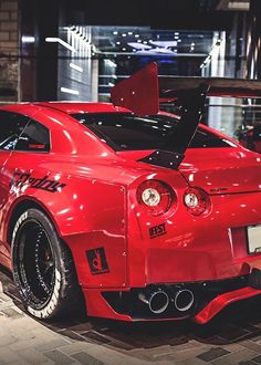 Visit The MACHINE Shop Café... ❤ Best of Nissan @ MACHINE ❤ (LB★Performance Nissan GT-R)