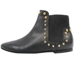 Beatnik black leather boots - Russell and Bromley Autumn Winter 2012