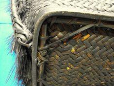 Filipino Ifugao Igorot rattan wood Big Tribal Backpack/basket Philippine - Other Filipino, Rattan, Old Things, Outdoor Blanket, Backpacks, Big, Wood, Baskets, Detail
